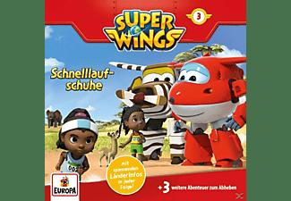 Super Wings - 003/Schnelllaufschuhe  - (CD)