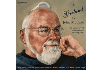 Linda Merrick, John Turner, Alistair Vennart, Lawson - A Garland for John McCabe  - (CD)