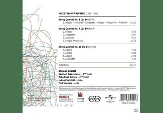 Silesian Quartet - Streichquartette 8, 9 & 10  - (CD)