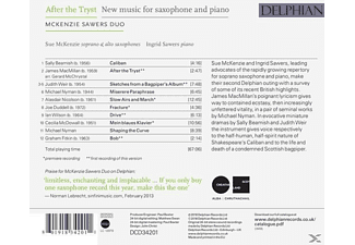 Mckenzie Sawers Duo - After the Tryst  - (CD)