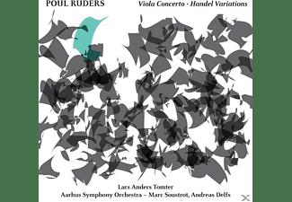 Tomter/Soustrot/Delfs/Aarhus SO - Violakonzert/Händel-Variationen  - (CD)
