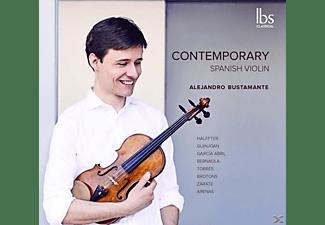 Alejandro Bustamante - Contemporary Spanish Violin  - (CD)