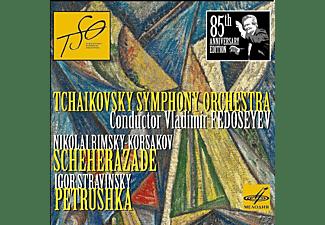 Vladimir Fedoseyev, Tchaikovsky Symphony Orchestra - Scheherazade/Petrushka  - (CD)