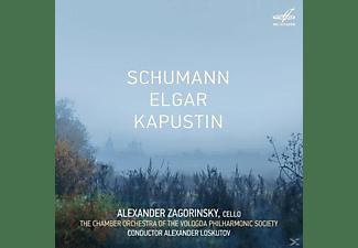 Alexander Zagorinsky, Alexander Loskutov - Werke für Cello und Orchester  - (CD)