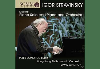 Peter Donohoe, Hong Kong Philharmonic Orchestra - Werke für Klavier solo und Klavier und Orchester  - (CD)