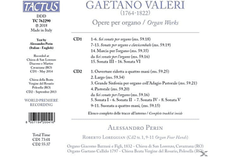 Alessandro Perin - Orgelwerke  - (CD)