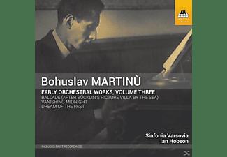 Ian Hobson, The Sinfonia Varsovia - Frühe Orchesterwerke Vol.3  - (CD)