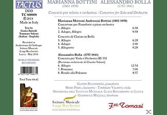 Bicchierini/Pieri/Valenti/Mazzoli/+ - Konzerte für Solo und Orchester  - (CD)