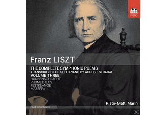 Risto-matti Marin - Symphonische Dichtungen Vol.3  - (CD)