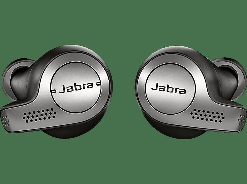 JABRA Elite 65t, In-ear True-Wireless-Kopfhörer Bluetooth Schwarz