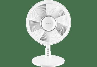 EMERIO FN-114224 Tischventilator Weiß/Silber (40 Watt)