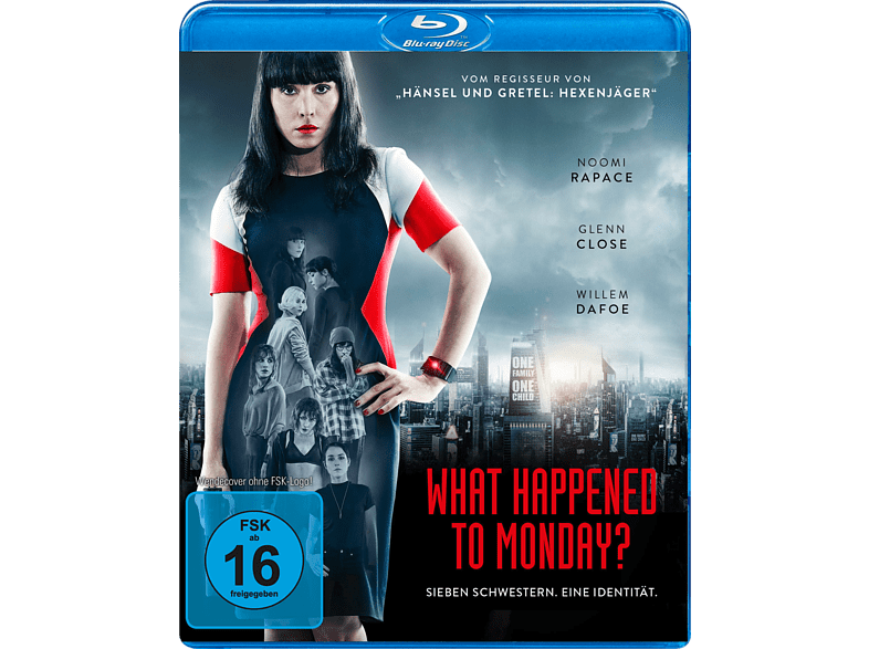 What Happened to Monday [Blu-ray]