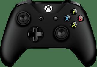 MICROSOFT Xbox Controller + Wireless Adapter für Windows Controller, Schwarz