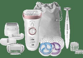 BRAUN Silk-épil 9 9/980 SkinSpa SensoSmart™ Epilierer, Roségold