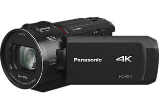 PANASONIC HC-VX11EG-K LEICA Camcorder Full HD, 4K, BSI-MOS 8,57 Megapixel, 24xopt. Zoom