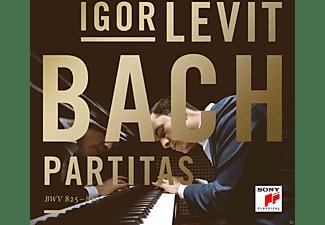 Igor Levit - Partitas Bwv825-830  - (CD)