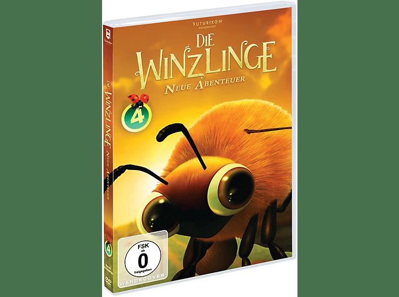 Die Winzlinge - Neue Abenteuer Vol. 1-4 [DVD]