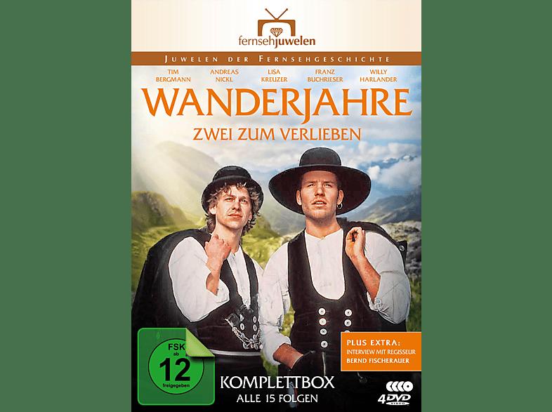 Wanderjahre - Zwei zum Verlieben - Die komplette Serie [DVD]