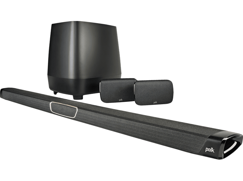 POLK AUDIO MagniFi Max SR, Lautsprechersystem, Schwarz