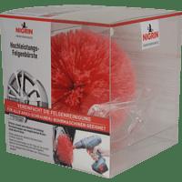 NIGRIN 72974 Hochleistungs Felgenbürste, Rot