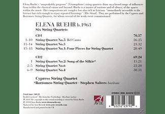Cypress String Quartet, Borromeo String Quartet - Six String Quartets  - (CD)