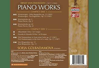 Gülbadamova Sofja - KLAVIERWERKE  - (CD)