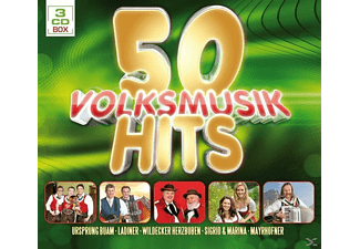 VARIOUS - 50 Volksmusik Hits  - (CD)