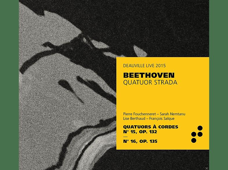 Quatuor Strada - Beethoven Quatuor À Cordes 15 & 16 [CD]