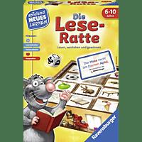 RAVENSBURGER Die Lese-Ratte Brettspiel, Mehrfarbig