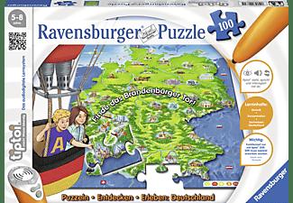 RAVENSBURGER tiptoi® Puzzeln, Entdecken, Erleben – Deutschland Puzzle Mehrfarbig