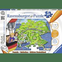 RAVENSBURGER tiptoi® Puzzeln, Entdecken, Erleben – Deutschland tiptoi® Puzzle