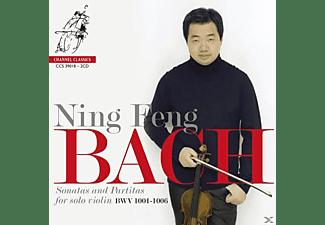 Ning Feng - Die Sonaten und Partiten für Violine solo  - (CD)