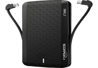 IWALK Scorpion 8000X, Powerbank, 8000 mAh, Schwarz