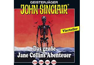 John Sinclair - 119-122 Das grosse Jane Collins Abenteur  - (CD)