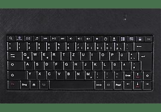 """HAMA Schutzhülle mit Tastatur OTG für Android, Displaygröße bis 10,5"""", Schwarz"""