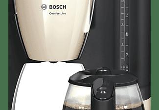 BOSCH TKA 6A047 Kaffeemaschine Creme/Dunkelgrau