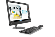 LENOVO IdeaCentre AIO 520, All-in-One PC mit 23.8 Zoll Display, Core™ i5 Prozessor, 8 GB RAM, 512 GB SSD, Intel® UHD-Grafik 630, Schwarz