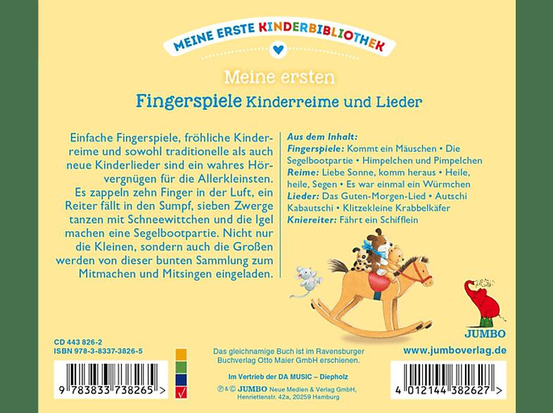 Various Meine Erste Kinderbibliothek Meine Ersten Fingerspiele Kinderreime Und Lieder Cd