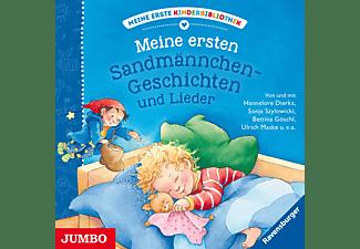 VARIOUS - Meine Erste Kinderbibliothek: Meine Ersten Sandmännchen-Geschichten und Lieder  - (CD)