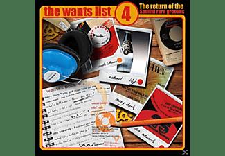 VARIOUS - The Wants List Vol.4  - (CD)