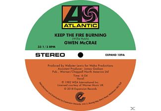 Gwen McCrae - Keep The Fire Burning/Funky Sensation (Extended)  - (Vinyl)