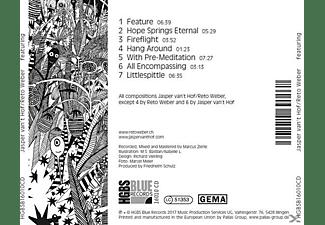 Van't Hof,Jasper/Weber,Reto - Featuring  - (CD)