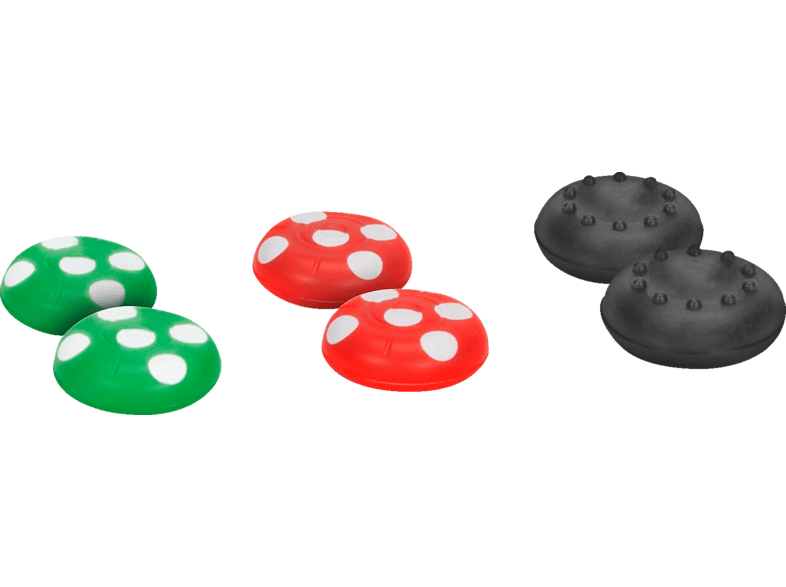 SPEEDLINK Stix Joy-Con Cap Set Nintendo Switch Daumengrip, Mehrfarbig