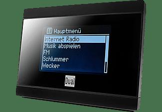DUAL IR 2A Internet Radio, Internet Radio, FM, Schwarz