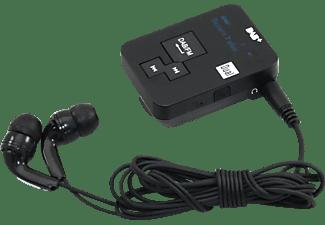 DUAL DAB Pocketradio 2 Portables DAB+ Radio, DAB+, FM, Schwarz
