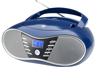 DUAL P 60 BT Radiorecorder, Blau
