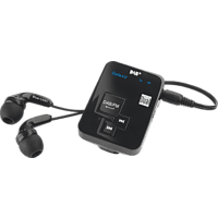 DUAL DAB Pocketradio 2 Portables DAB+ Radio, Schwarz