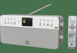 DUAL BR RADIO 2 DAB+ Radio, DAB+, FM, Silber