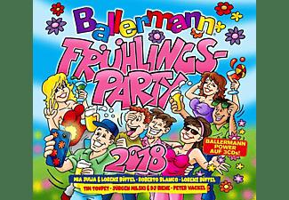 VARIOUS - Ballermann Frühlingsparty 2018  - (CD)