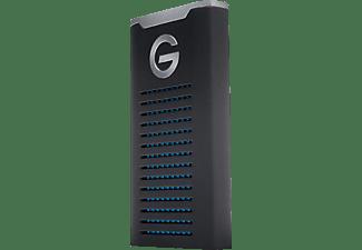 G-TECHNOLOGY G-DRIVE mobile SSD R-Series, 1 TB SSD, 2,5 Zoll, extern, Schwarz